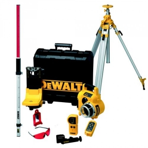 DeWalt Rotationslaser Set DW075PK